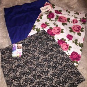 3 Bodycon Skirt Bundle
